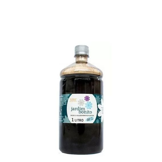 Fertilizante Compostagem Líquido Jardim Bonito 1000 ml - Chorume