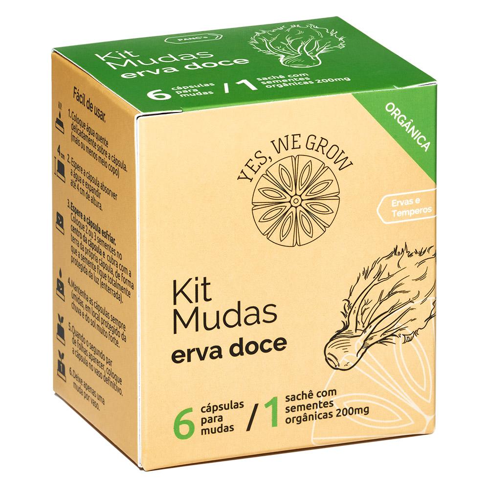 Kit Mudas   Erva Doce