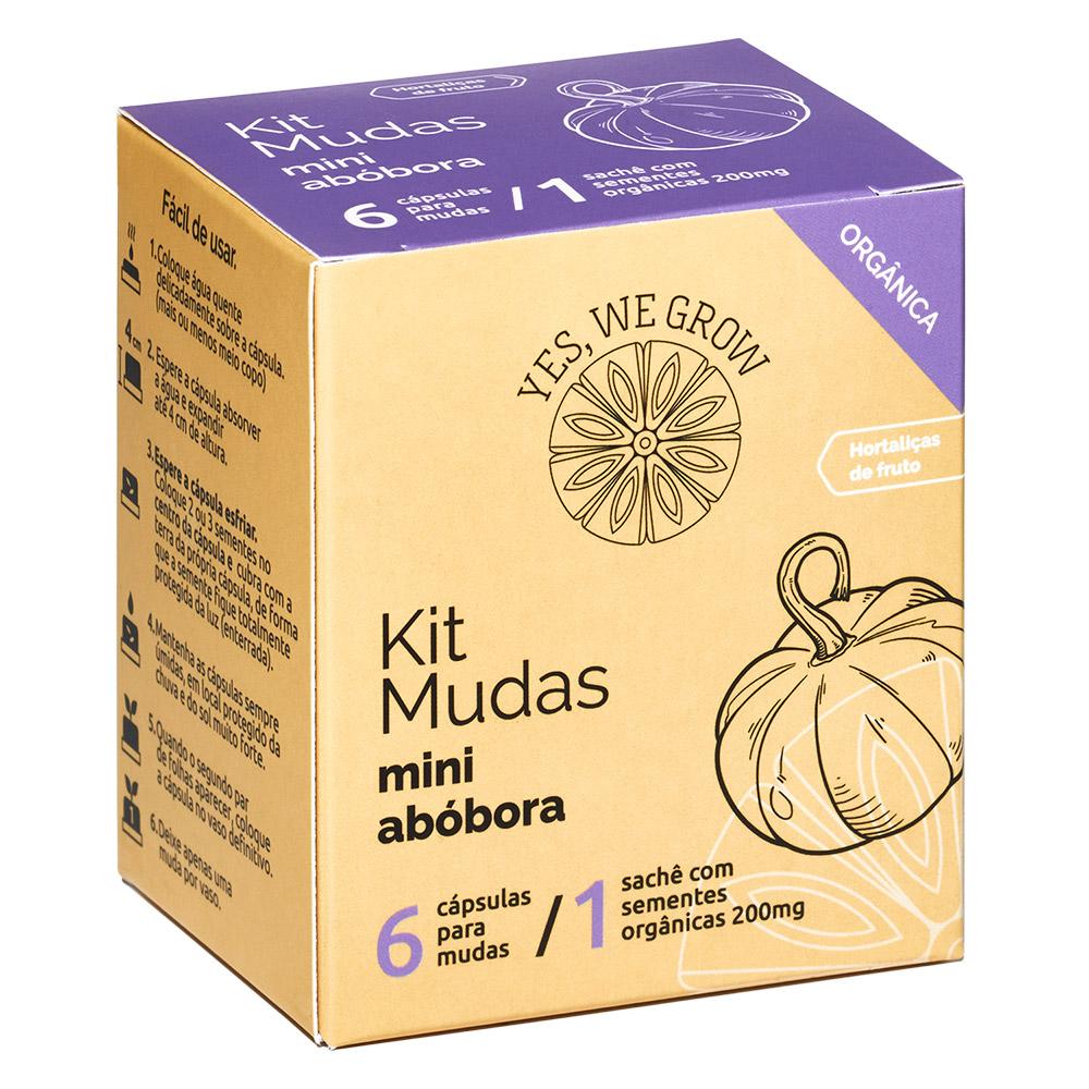 Kit Mudas | Mini Abóbora