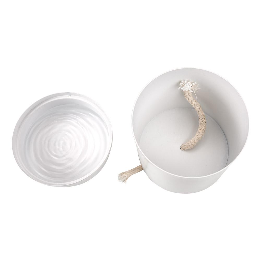 Vaso Autoirrigável Colors Branco