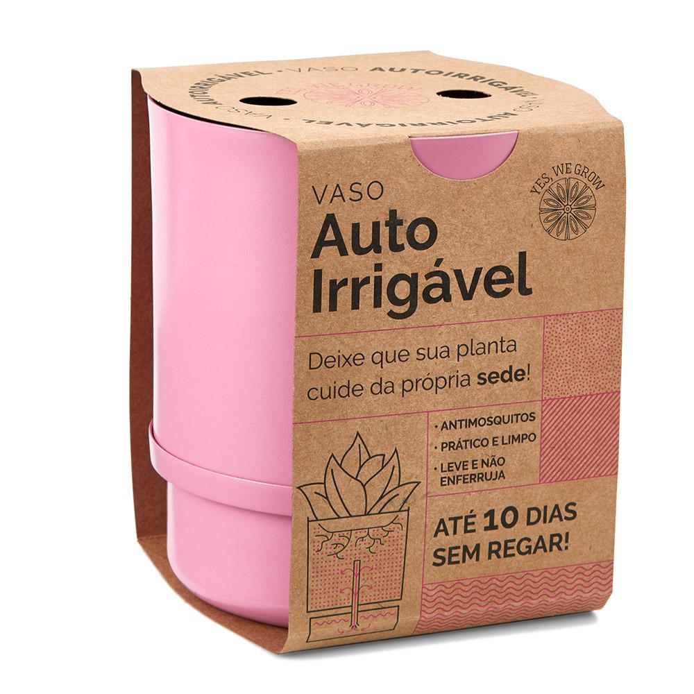 Vaso Autoirrigável Colors Rosa