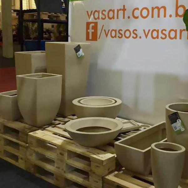 Vaso Malta Trapézio 30 x 30 cm Vasart