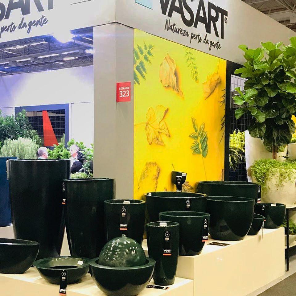 Vaso Verona Redondo Alto 40 X 70 Cm Vasart