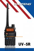 UV-5R/5W - RÁDIO DUAL BAND BAOFENG 5W   ( CAIXA COM 50 APARELHOS )