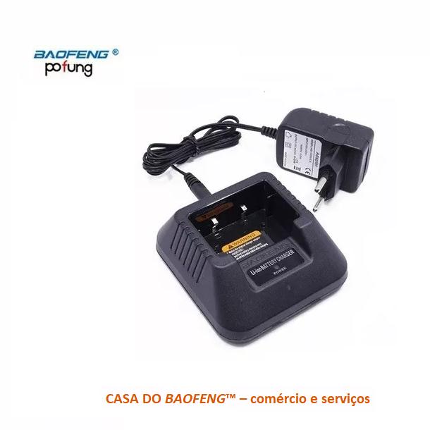 BASE + FONTE PARA BAOFENG UV-5R / UV-6R