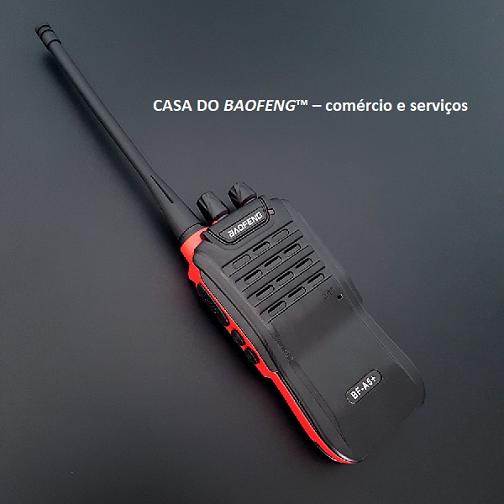 BF-A5+ - RÁDIO UHF BAOFENG 3W ( EMBALAGEM COM 2 RÁDIOS )