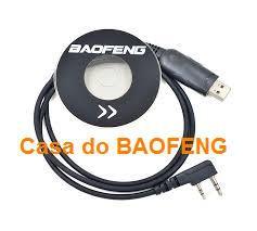 CABO DE PROGRAMAÇÃO + CD PARA HT's BAOFENG
