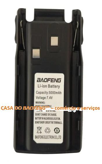 BATERIA PARA BAOFENG UV-82 7.4V 5000mA/h