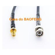 CABO CONECTORIZADO 'PIGTAIL' 15cm SMAf / BNCm