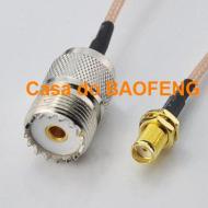CABO CONECTORIZADO 'PIGTAIL' 15cm SMAf / UHFf