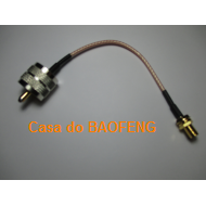 CABO CONECTORIZADO 'PIGTAIL' 15cm SMAf / UHFm