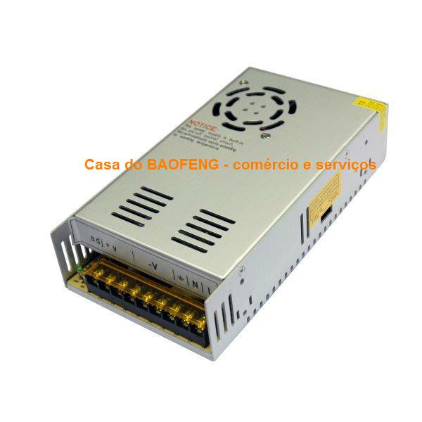 FONTE CHAVEADA 13.8V 30A - IMPORTADA / TESTADA