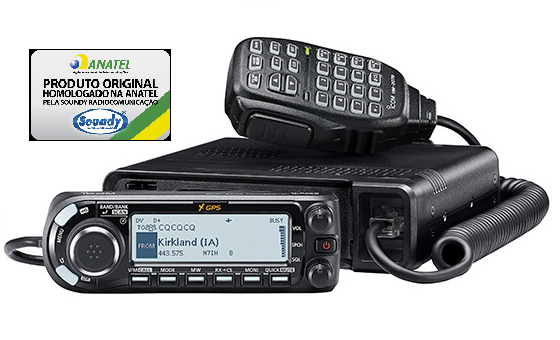 ICOM ID-4100A - RÁDIO DUAL BAND DIGITAL D-Star