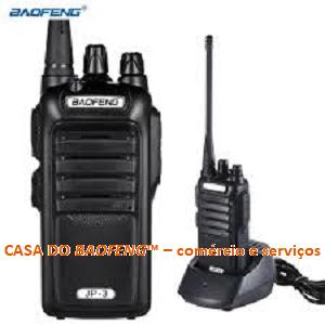 JP-9 - RÁDIO A PROVA DÁGUA UHF BAOFENG 5W