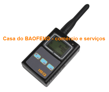 MEDIDOR DIGITAL DE FREQUÊNCIAS 10Hz a 100Mhz / 50Mhz a 2.6Ghz - IBQ102