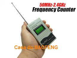 MEDIDOR DIGITAL DE FREQUÊNCIAS  50Mhz a 2.4Ghz - Gy560