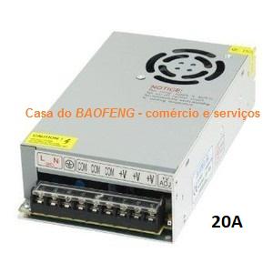 QYT KT-8900 - RÁDIO MÓVEL VHF / UHF 25W + ANTENA VEICULAR + FONTE 20A