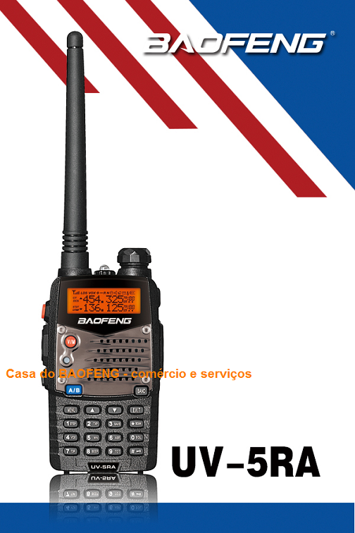 UV-5RA - RÀDIO DUAL BAND BAOFENG 5W