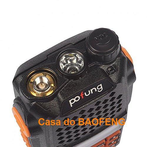 UV-6R - RÁDIO DUAL BAND BAOFENG 5W