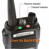 UV-82 - RÁDIO DUAL BAND BAOFENG 5W