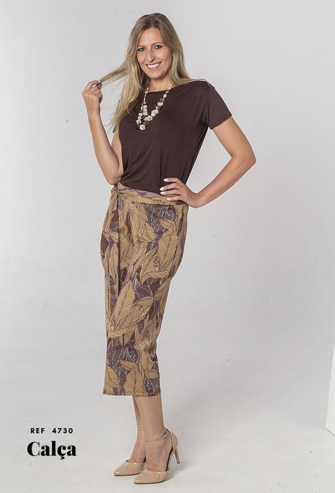 Calça Pantalona Crepe (4730)