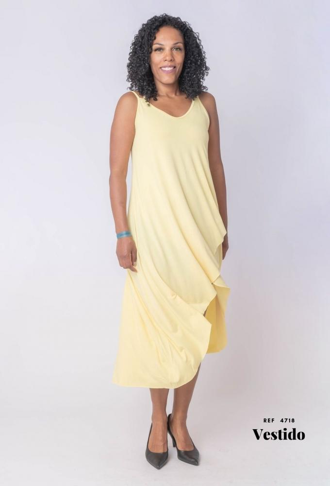 Vestido Transpassado (4718)