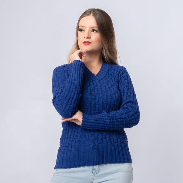 Blusa de Frio Feminina Bambu (21046)