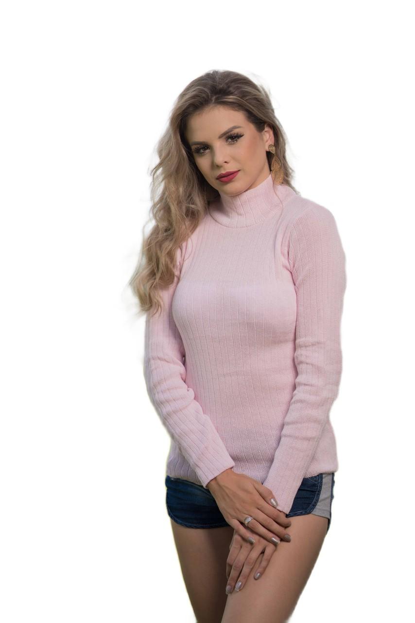 Blusa de tricô básica