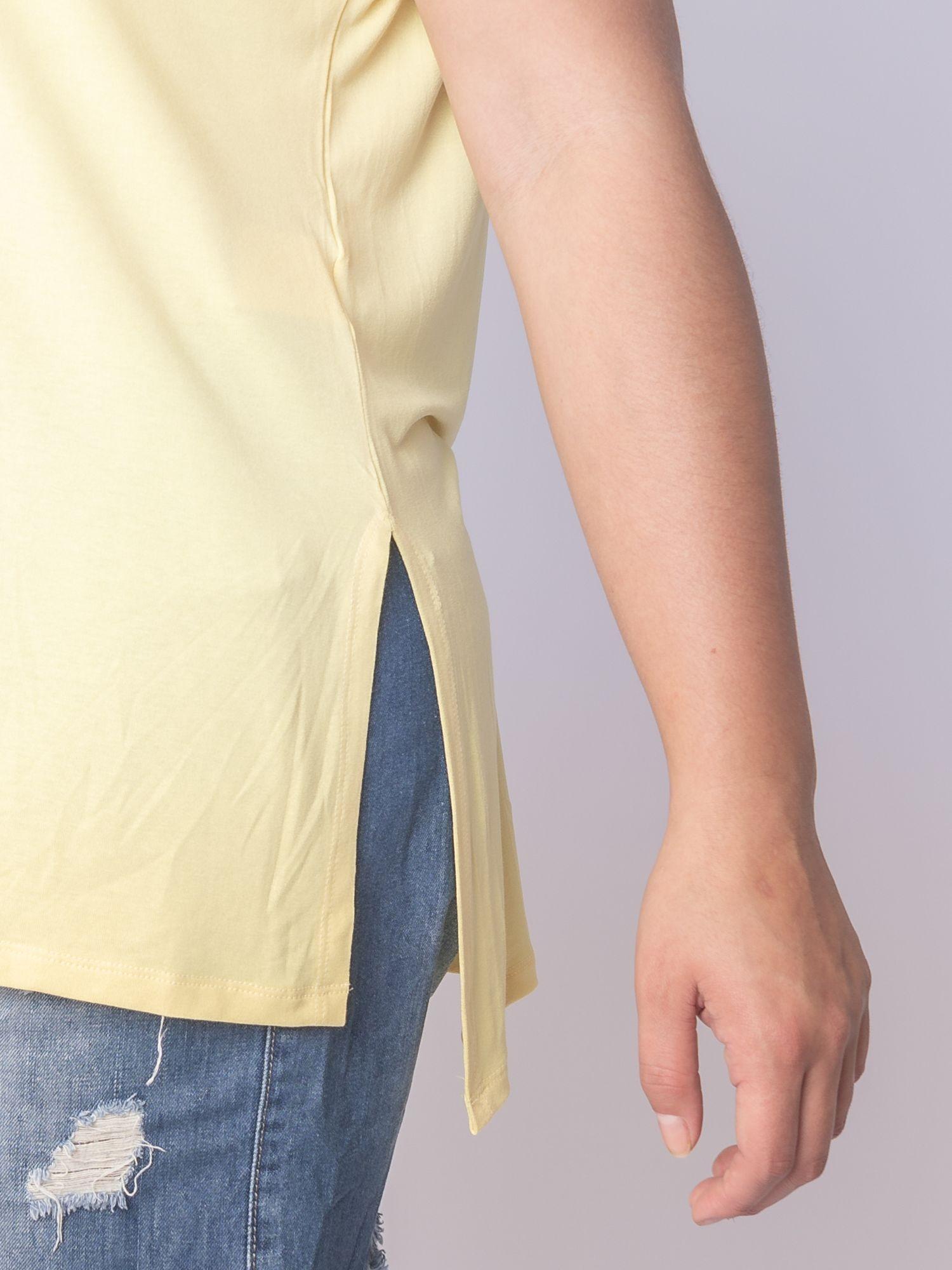 Blusa Fenda Lisa