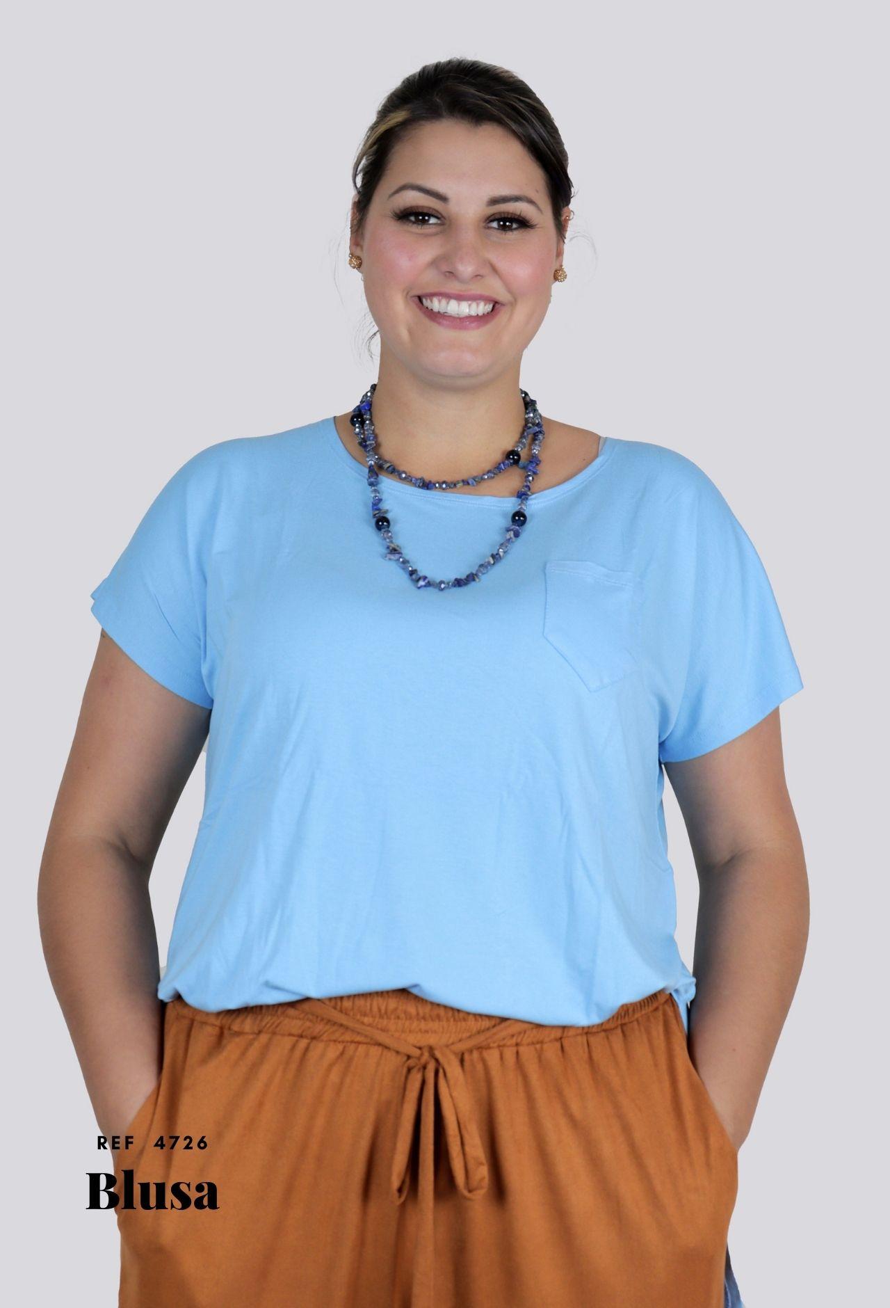 Blusa Fenda Plus