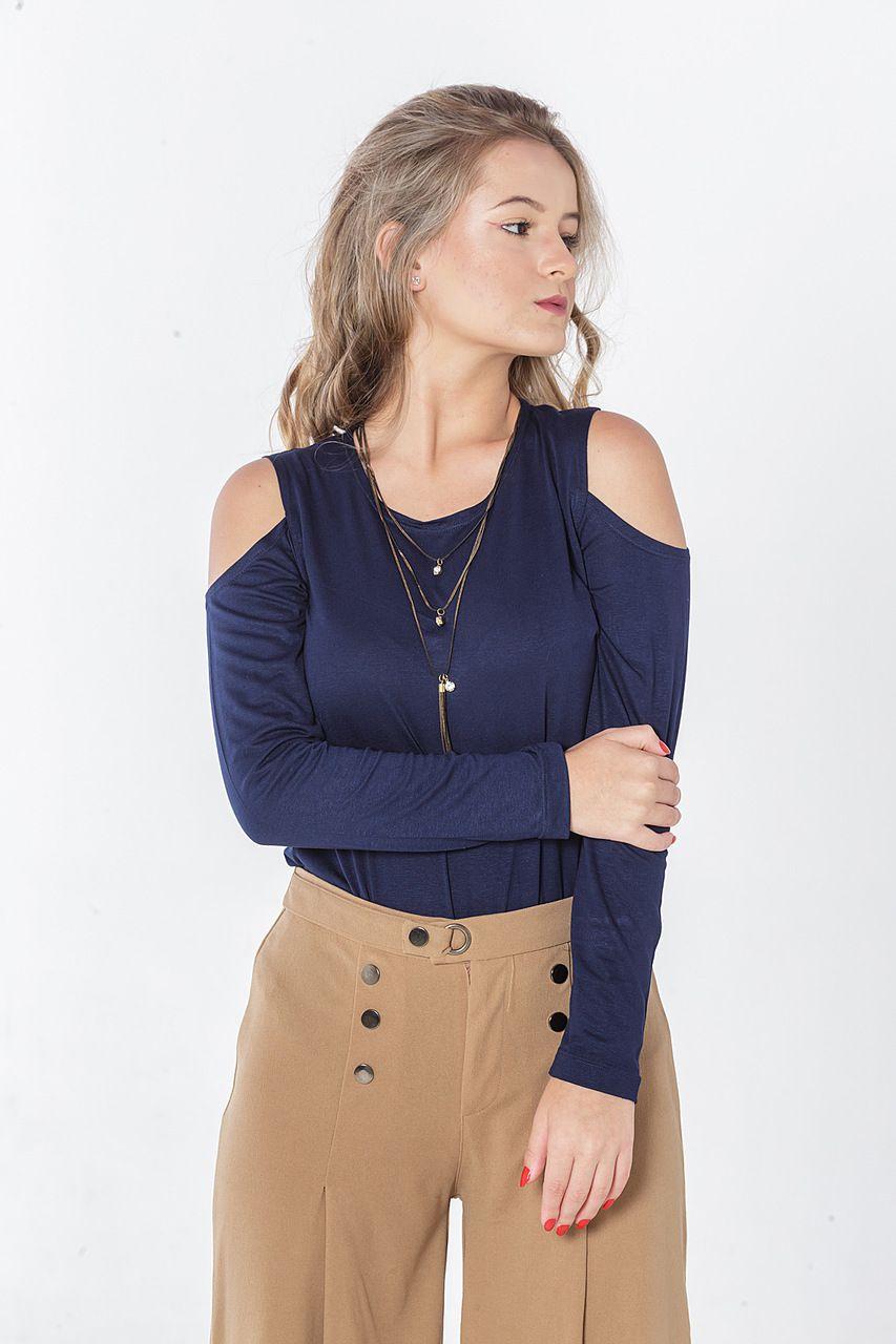 Blusa ombro aberto
