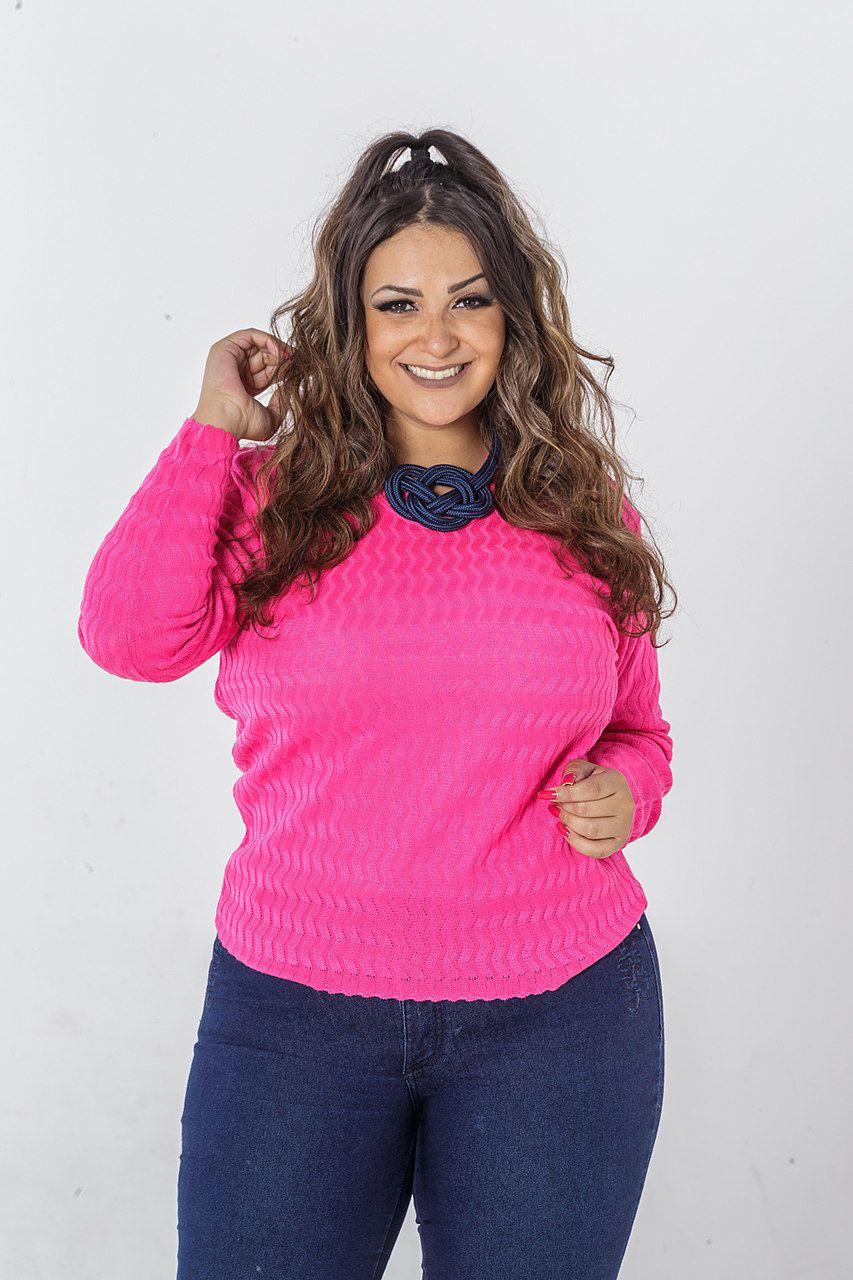 Blusa Tricô Plus