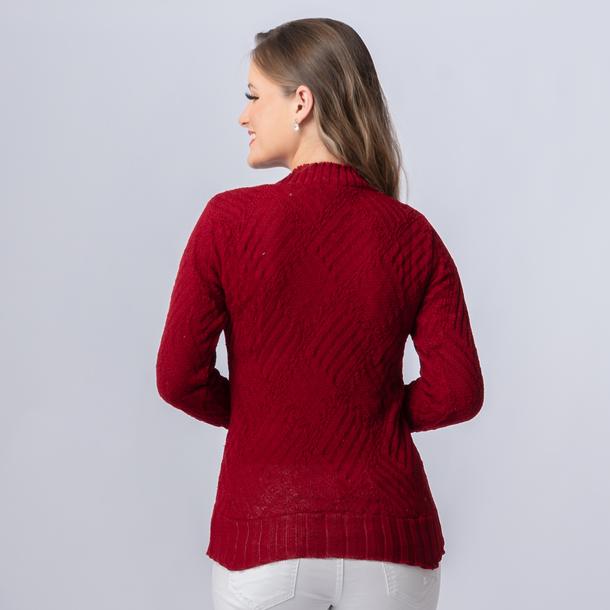 Blusa Trico Decote V (19035)