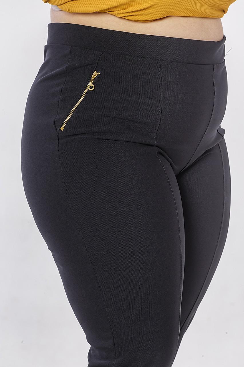 Calça Montaria Ziper Plus Size