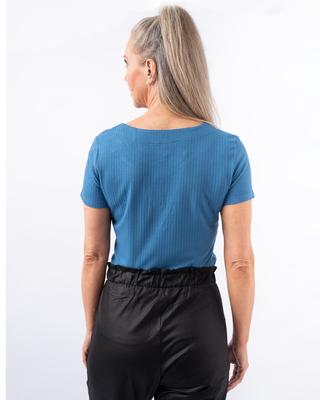 Camiseta básica canelada (29105)
