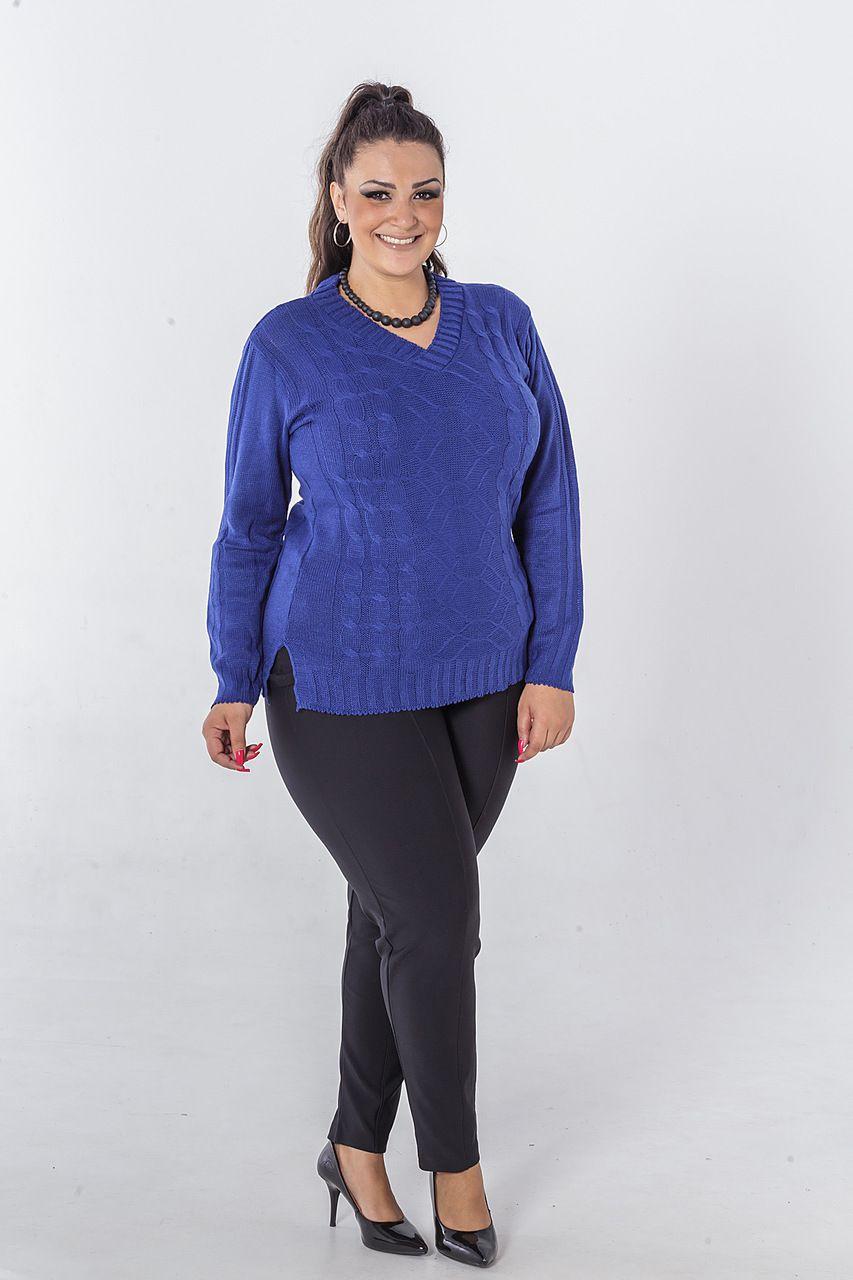 Veste legging de tricô tranças