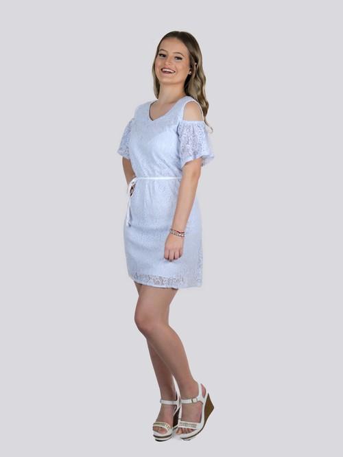 Vestido de renda PLUS