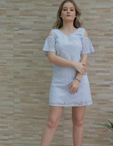 Vestido Renda Plus