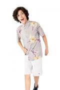 Camisa Infantil Manga Curta Viscose