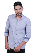Camisa Masculina Farby Slim Fit