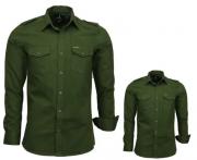 Camisas Tal Pai Tal Filho Estilo Militar