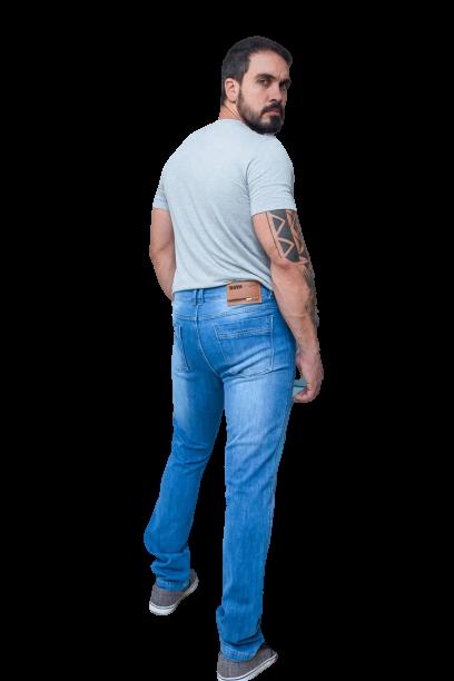 Calça Jeans Masculina Ant Fit