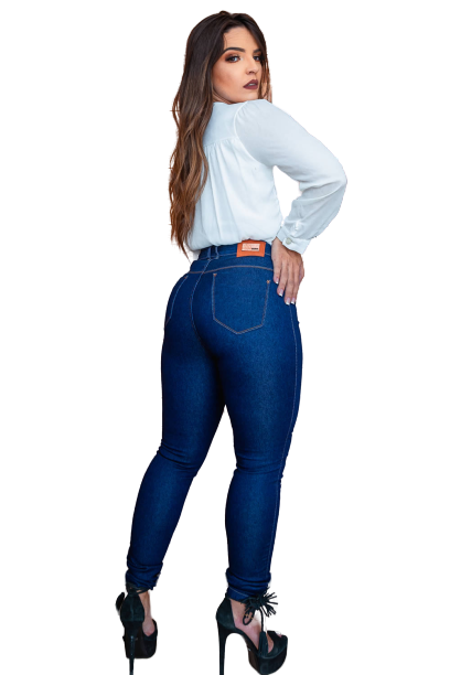 Calça Jeans SK Cintura Alta