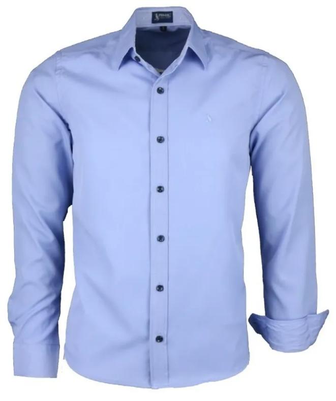 Camisa Dijon Manga Longa Modelo Comfort Não Amassa