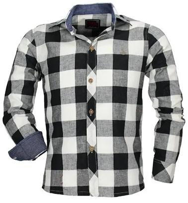 Camisa Xadrez Infantil Alfa - Linho Luxo