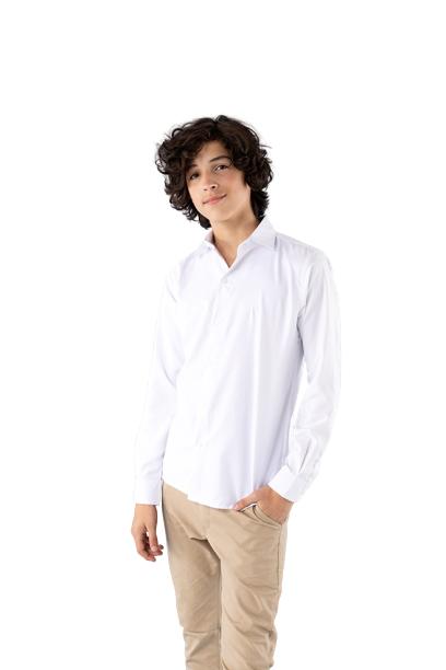 Camisa Infantil e Infanto Juvenil Branca
