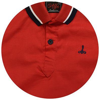 Camisa Infantil Gola Polo