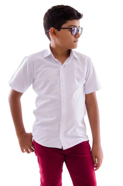 Camisa Infantil Manga Curta