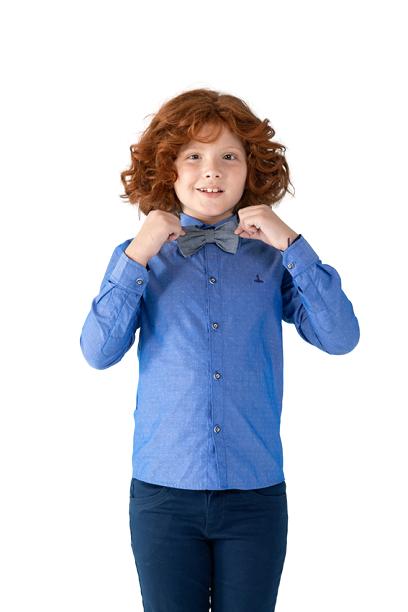 Camisa Infantil Manga Longa