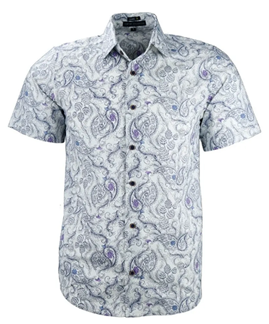 Camisa Masculina Alban Estampada